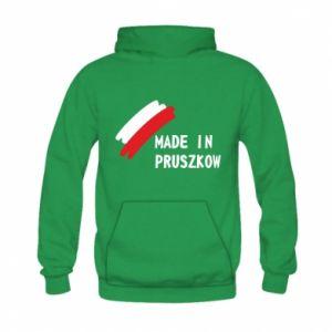 """Bluza z kapturem dziecięca """"Made in Pruszkow"""""""