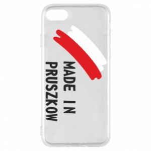 "Phone case for iPhone 8 ""Made in Pruszkow"""