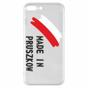"Phone case for iPhone 8 Plus ""Made in Pruszkow"""