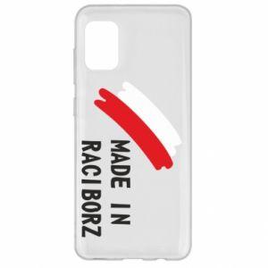 Samsung A31 Case Made in Raciborz