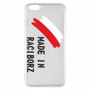 Phone case for iPhone 6 Plus/6S Plus Made in Raciborz