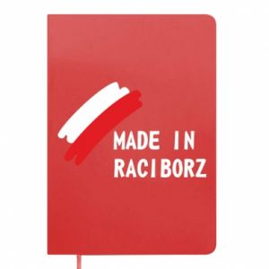 Notepad Made in Raciborz