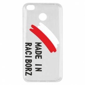Xiaomi Redmi 4X Case Made in Raciborz