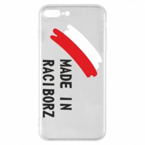 Phone case for iPhone 8 Plus Made in Raciborz