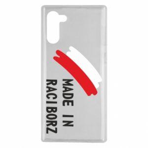Samsung Note 10 Case Made in Raciborz