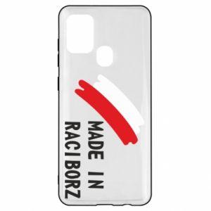 Samsung A21s Case Made in Raciborz