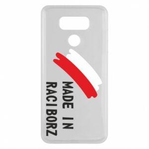LG G6 Case Made in Raciborz