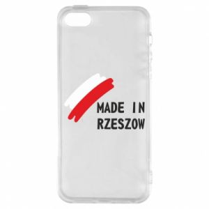 Etui na iPhone 5/5S/SE Made in Rzeszow