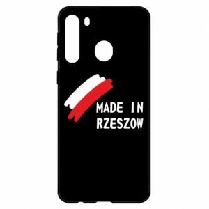 Samsung A21 Case Made in Rzeszow