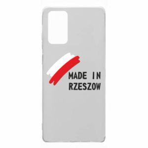 Samsung Note 20 Case Made in Rzeszow