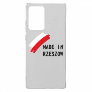 Samsung Note 20 Ultra Case Made in Rzeszow