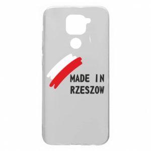 Xiaomi Redmi Note 9 / Redmi 10X case % print% Made in Rzeszow