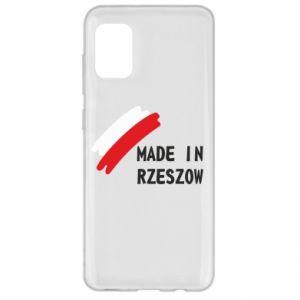 Samsung A31 Case Made in Rzeszow