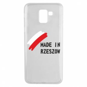 Etui na Samsung J6 Made in Rzeszow