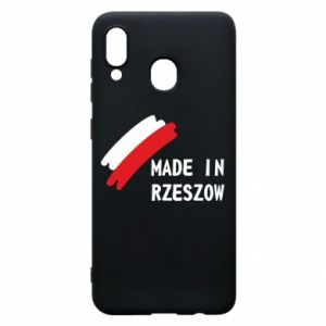 Etui na Samsung A20 Made in Rzeszow