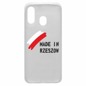 Etui na Samsung A40 Made in Rzeszow
