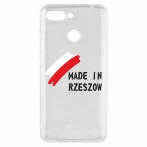 Etui na Xiaomi Redmi 6 Made in Rzeszow