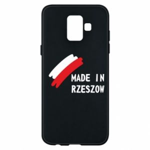 Etui na Samsung A6 2018 Made in Rzeszow