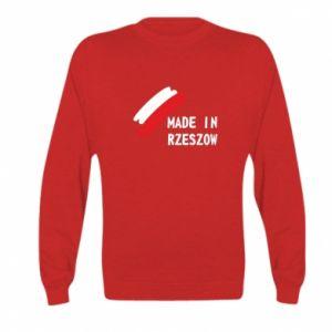 Kid's sweatshirt Made in Rzeszow
