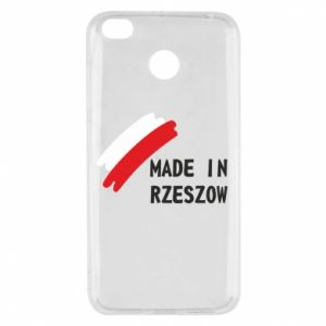 Xiaomi Redmi 4X Case Made in Rzeszow