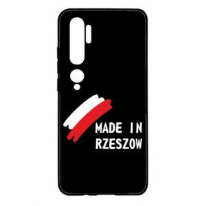 Xiaomi Mi Note 10 Case Made in Rzeszow