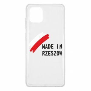 Samsung Note 10 Lite Case Made in Rzeszow