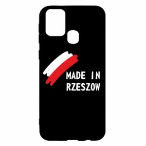 Samsung M31 Case Made in Rzeszow