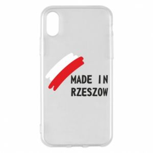 Etui na iPhone X/Xs Made in Rzeszow