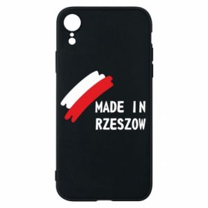 Etui na iPhone XR Made in Rzeszow