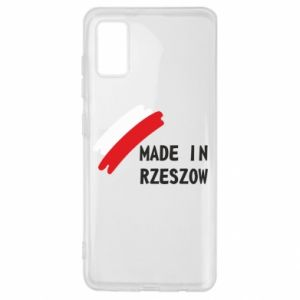 Samsung A41 Case Made in Rzeszow