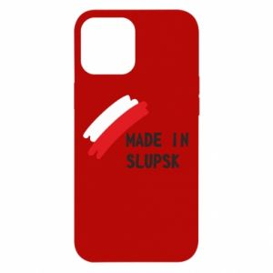 Etui na iPhone 12 Pro Max Made in Slupsk