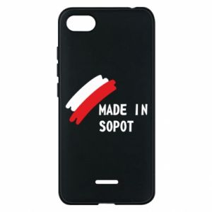 Etui na Xiaomi Redmi 6A Made in Sopot - PrintSalon
