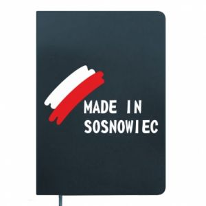 Notepad Made in Sosnowiec