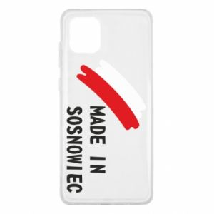 Samsung Note 10 Lite Case Made in Sosnowiec
