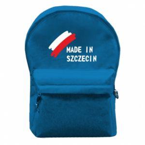 Plecak z przednią kieszenią Made in Szczecin