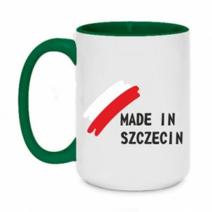 Two-toned mug 450ml Made in Szczecin