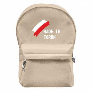 Plecak z przednią kieszenią Made in Torun