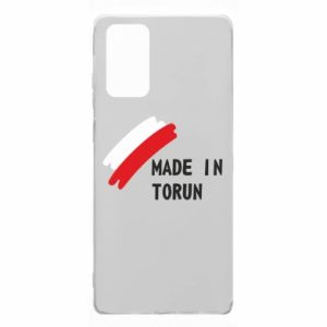 Etui na Samsung Note 20 Made in Torun