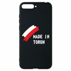 Etui na Huawei Y6 2018 Made in Torun - PrintSalon
