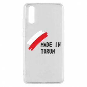 Etui na Huawei P20 Made in Torun - PrintSalon