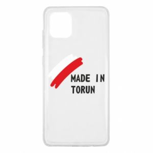 Samsung Note 10 Lite Case Made in Torun