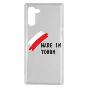 Samsung Note 10 Case Made in Torun