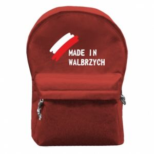 Backpack with front pocket Made in Walbrzych