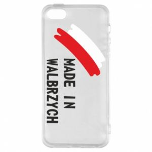 iPhone 5/5S/SE Case Made in Walbrzych
