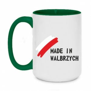 Two-toned mug 450ml Made in Walbrzych