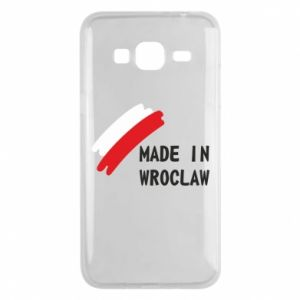 Samsung J3 2016 Case Made in Wroclaw