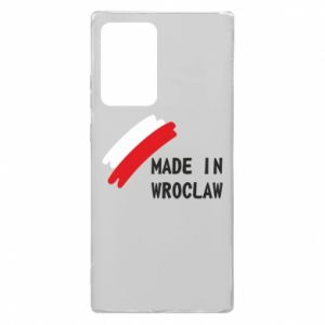 Samsung Note 20 Ultra Case Made in Wroclaw