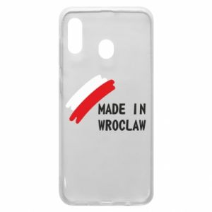 Samsung A20 Case Made in Wroclaw