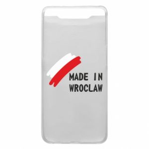 Samsung A80 Case Made in Wroclaw