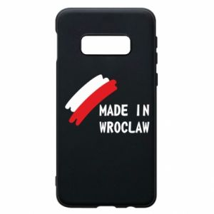 Samsung S10e Case Made in Wroclaw